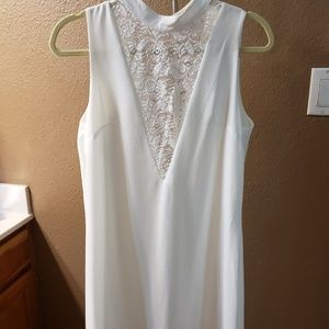 White dress, new without tag